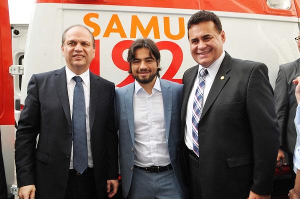 Entrega SAMU_Foto Márcio Lino 01