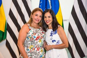 Denise Auricchio e Lu Alckmin