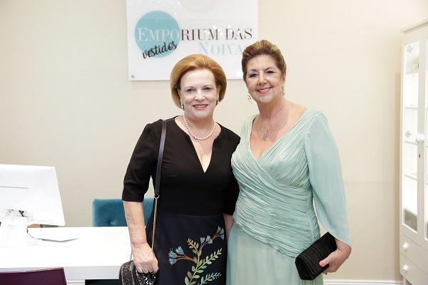 Leila Dario Foroni e Vera Monari prestigiam festa pelos três anos e repaginada do espaço