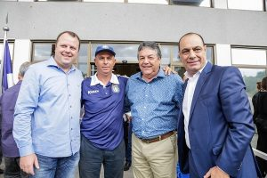 Beto Vidoski, Luís Carlos Martins, Nairo Ferreira de Souza e José Auricchio Júnior