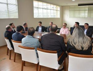 Parlamentar reforçou apoio ao chefe do Executivo em projetos de melhoria para a cidade