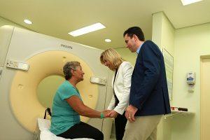 Dona Benedita de Lourdes esperava há 03 anos por uma tomografia de crânio