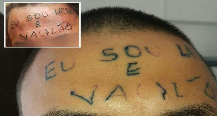 tatuagens ladrão e vacilão