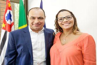 Solenidade de Posse SEDEF - Auricchio e Adriana Gomes da Fonseca - 12 setembro 2017 (2)