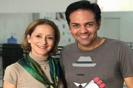Ana Botafogo e Gustavo Baena