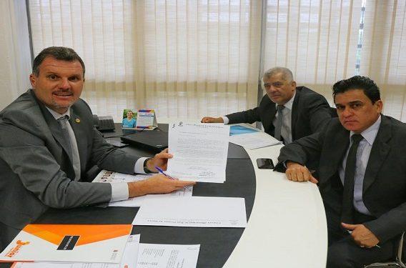 Junior Aprillanti, Rubão Fernandes e Reinaldo Cavalcanti