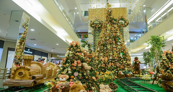 Decoração Natal 2017 ParkShopping São Caetano