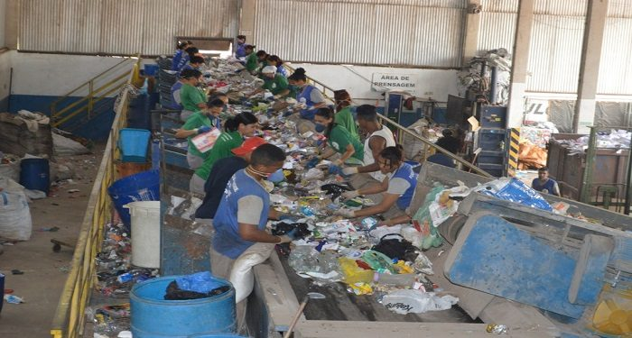 cooperativa de reciclagem santo andré