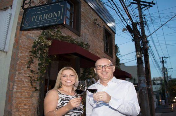 A empresaria Celene Peralta com o socio e amigo, Andre Montanari, proprietarios da Permont (2)