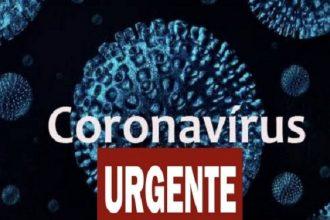 covid19 novo coronavírus urgente